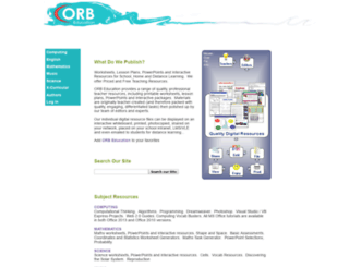 orbeducation.com.au screenshot