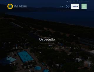 orbetellocampingvillage.it screenshot