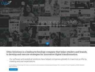orbiosolutions.com screenshot