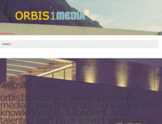 orbis1media.com screenshot