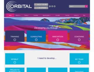 orbitaltraining.co.uk screenshot
