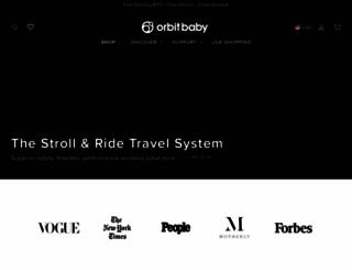 orbitbaby.com screenshot
