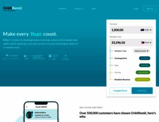 orbitremit.com screenshot