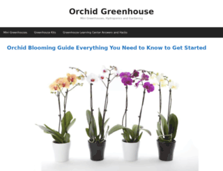 orchidgreenhouse.com screenshot