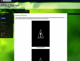 orchidjournal.blogspot.com screenshot