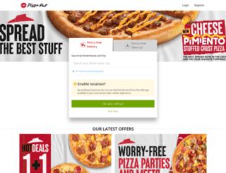 order.pizzahut.com.ph screenshot
