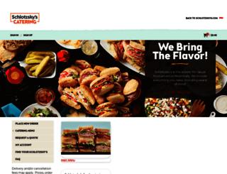 ordering.schlotzskys.com screenshot