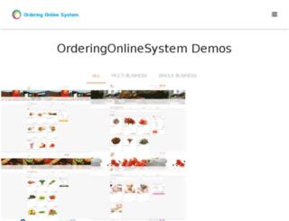 orderingdemos.com screenshot