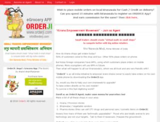 orderji.com screenshot
