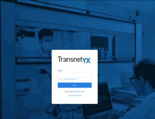 ordermanager.transnetyx.com screenshot