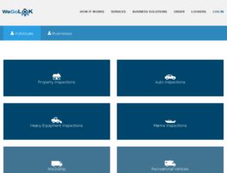 orders.wegolook.com screenshot
