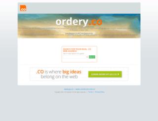 ordery.co screenshot