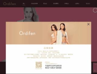 ordifen.com.cn screenshot