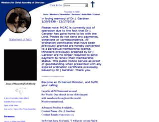 ordination.org screenshot