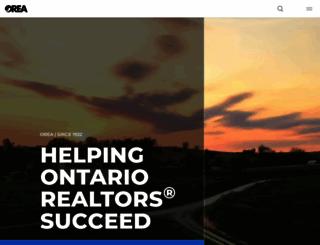 orea.com screenshot