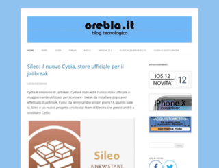 orebla.it screenshot