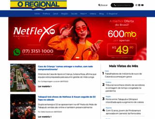 oregional.com.br screenshot