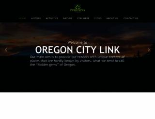 oregoncitylink.com screenshot