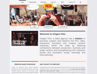 oregonfilm.org screenshot