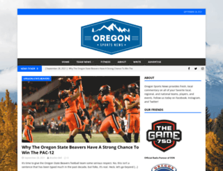 oregonsportsnews.com screenshot