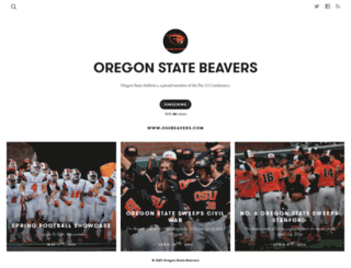 oregonstatebeavers.exposure.co screenshot
