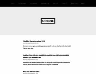 oreime.wordpress.com screenshot