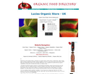 organic-store.co.uk screenshot