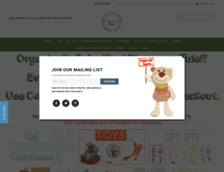 organicallybaby.com screenshot