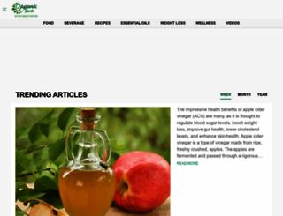 organicfacts.net screenshot