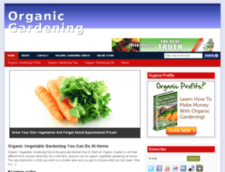 organicgardening.msfx.info screenshot
