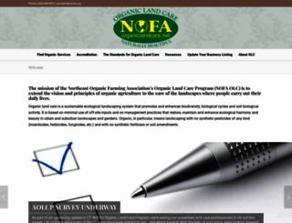 organiclandcare.net screenshot
