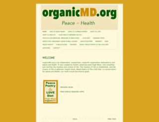 organicmd.org screenshot