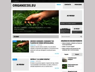organicos.eu screenshot