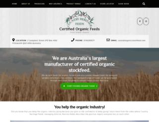organicstockfeed.com screenshot