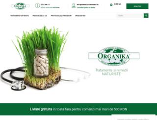 organika.com.ro screenshot