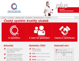 organizace.csks.cz screenshot