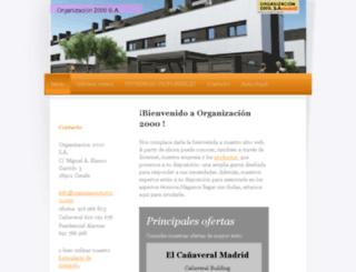 organizacion2000.com screenshot