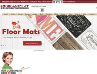 organizeit-online.com screenshot