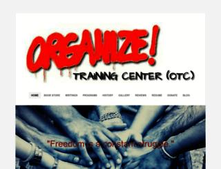 organizetrainingcenter.org screenshot