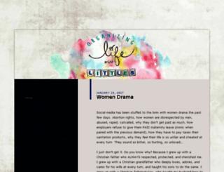 organizinglifewithlittles.wordpress.com screenshot