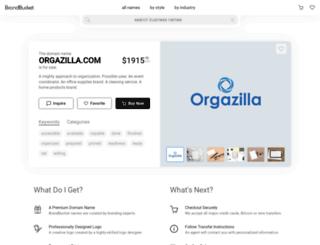 orgazilla.com screenshot