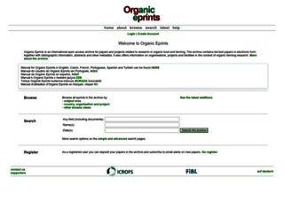 orgprints.org screenshot
