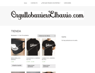orgullobarrieroelbarrio.com screenshot