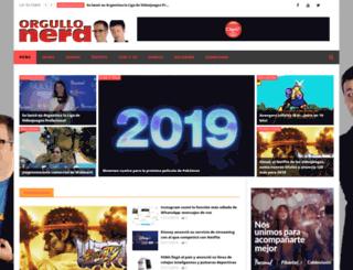 orgullonerd.com screenshot