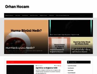 orhanhocam.com screenshot