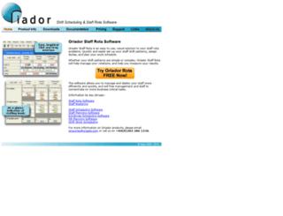 oriador.com screenshot