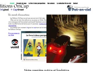 oricap.fr screenshot