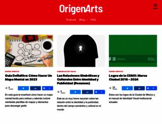 origenarts.com screenshot