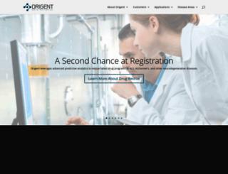 origent.com screenshot
