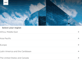 origin-worldwide.bose.com screenshot